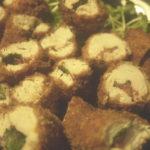 ささみの梅肉大葉チーズフライを作る。おつまみにもお弁当にもばっちりの一口フライ