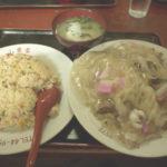 平和町・山東省 多いですね…これは多い…長崎市の隠れた大盛りの店でいただくモリモリ焼き飯