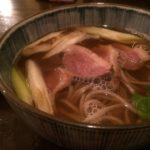 赤迫・あおで鴨南蛮を頂く。間違いなく長崎トップクラスの蕎麦